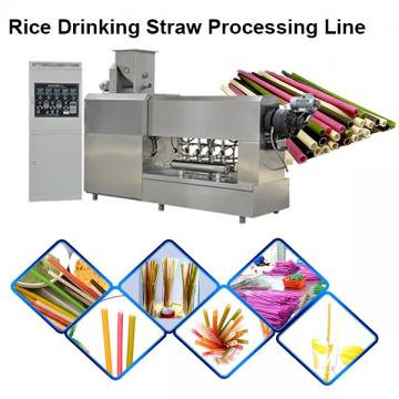 Tapioca Rice Edible Straws Biodegradable Disposable Drinking Straws Production Line