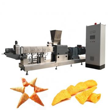 Double Screw Extruder Full Automatic Tortilla/Nacho/Doritos Chips Snacks Making Machine Fried Pellet Production Line