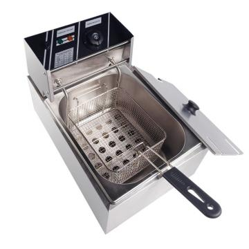 Stainless Steel Commerical Deep Fryer