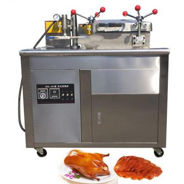 Industrial Automatic Continous Belt Peanut, Snack Food Fryer