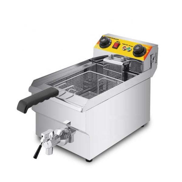Hot Selling Stainless Steel Gas Deep Fryer (GRT-G10L)